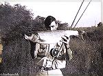 Here's an oldie from back around 1968. Joe Reynolds with what proved to be the largest striped bass caught on a fly at the time.