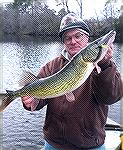 On January 2, 2015 Lee Haile was fishing with his son targeting large chain pickerel in the deepest parts of an Eastern Shore lake where the largest chain pickerel are prone to be found. Chain pickere